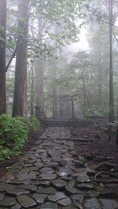 日光・滝尾神社 入口